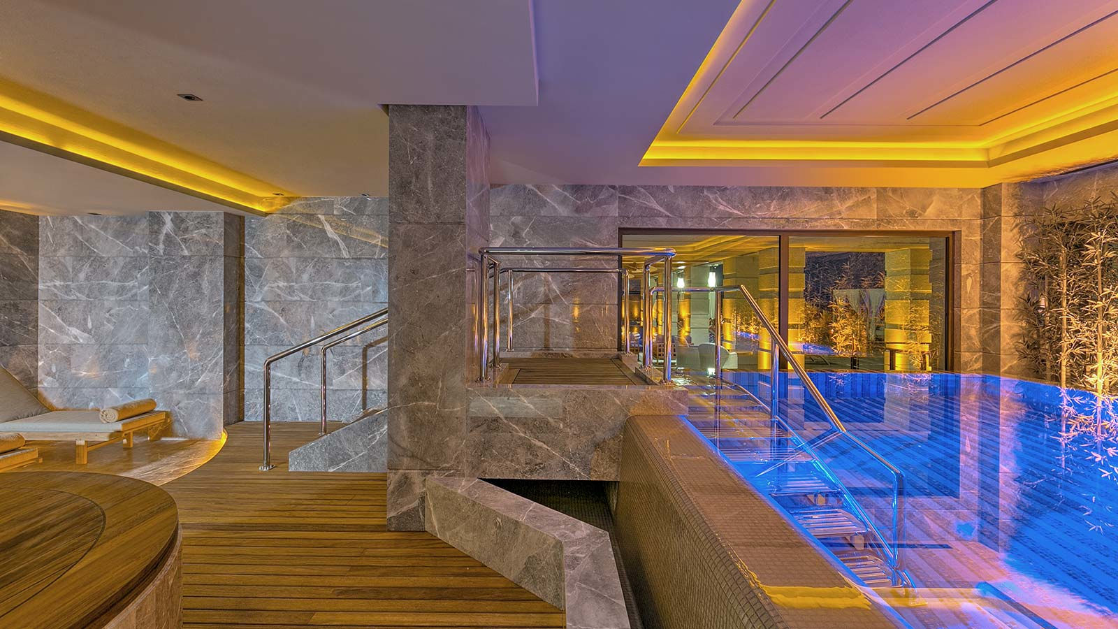 Caresse a Luxury Collection Resort Spa Bodrum Turkey SPA Caresse Indoor Pool