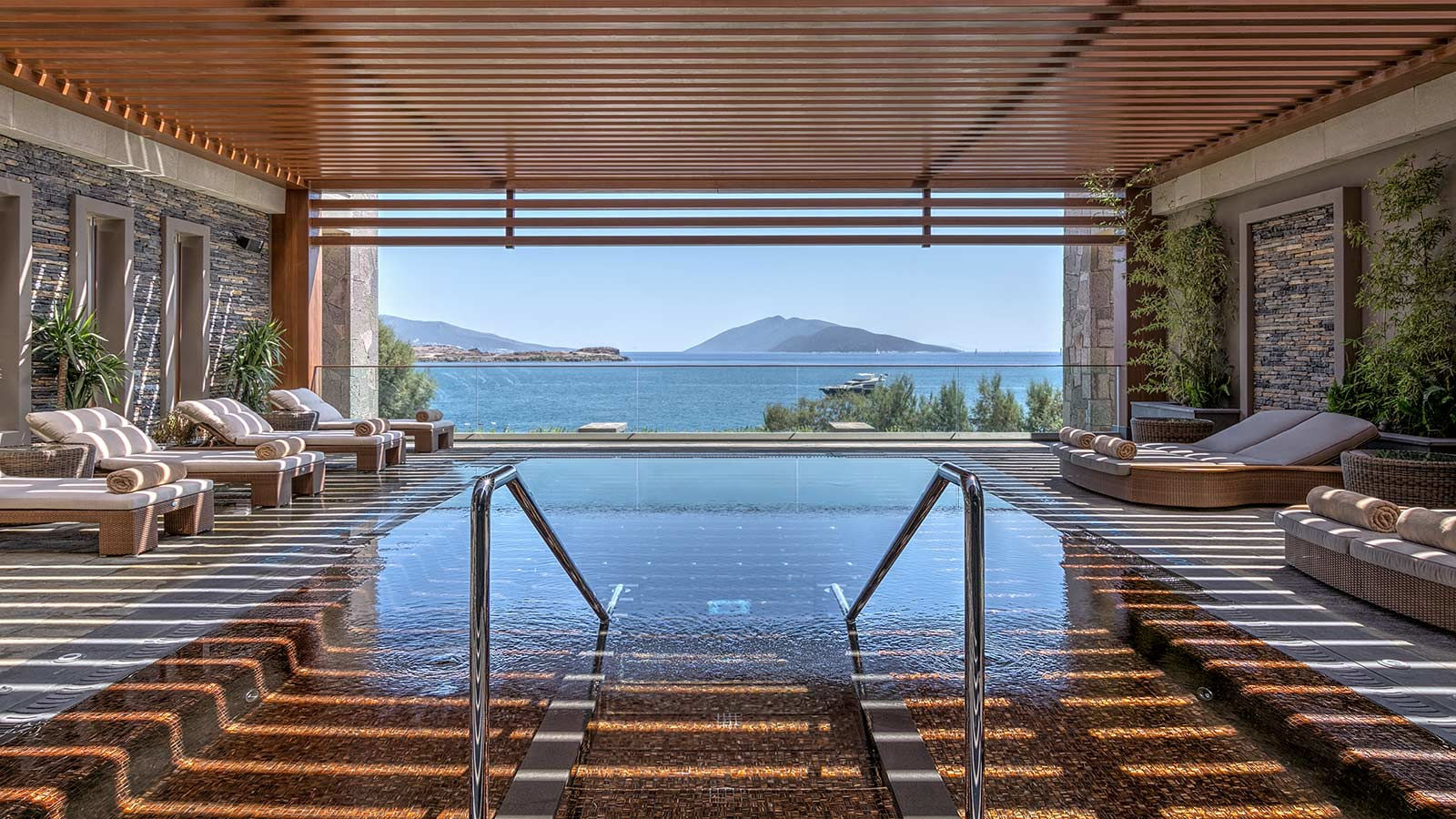 Caresse a Luxury Collection Resort Spa Bodrum Turkey SPA Caresse Open Air Whirlpool Area