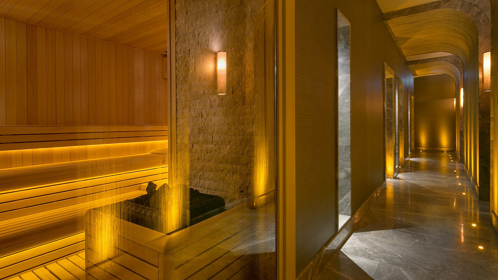 Caresse a Luxury Collection Resort Spa Bodrum Turkey SPA Caresse Sauna